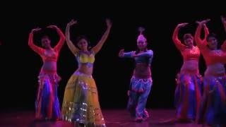 BANJARA SCHOOL OF DANCE - BellyFusions Festival (Paris 2016)
