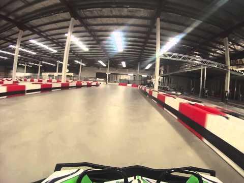 Power Kart Raceway Canberra Hot Laps