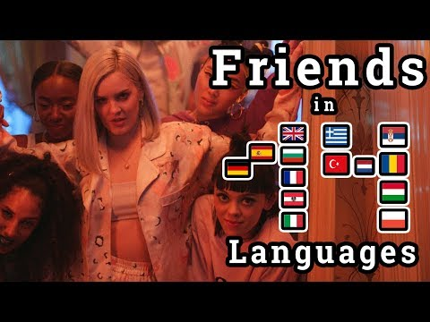 Singing Friends In 14 Different Languages With Better Singing Skills