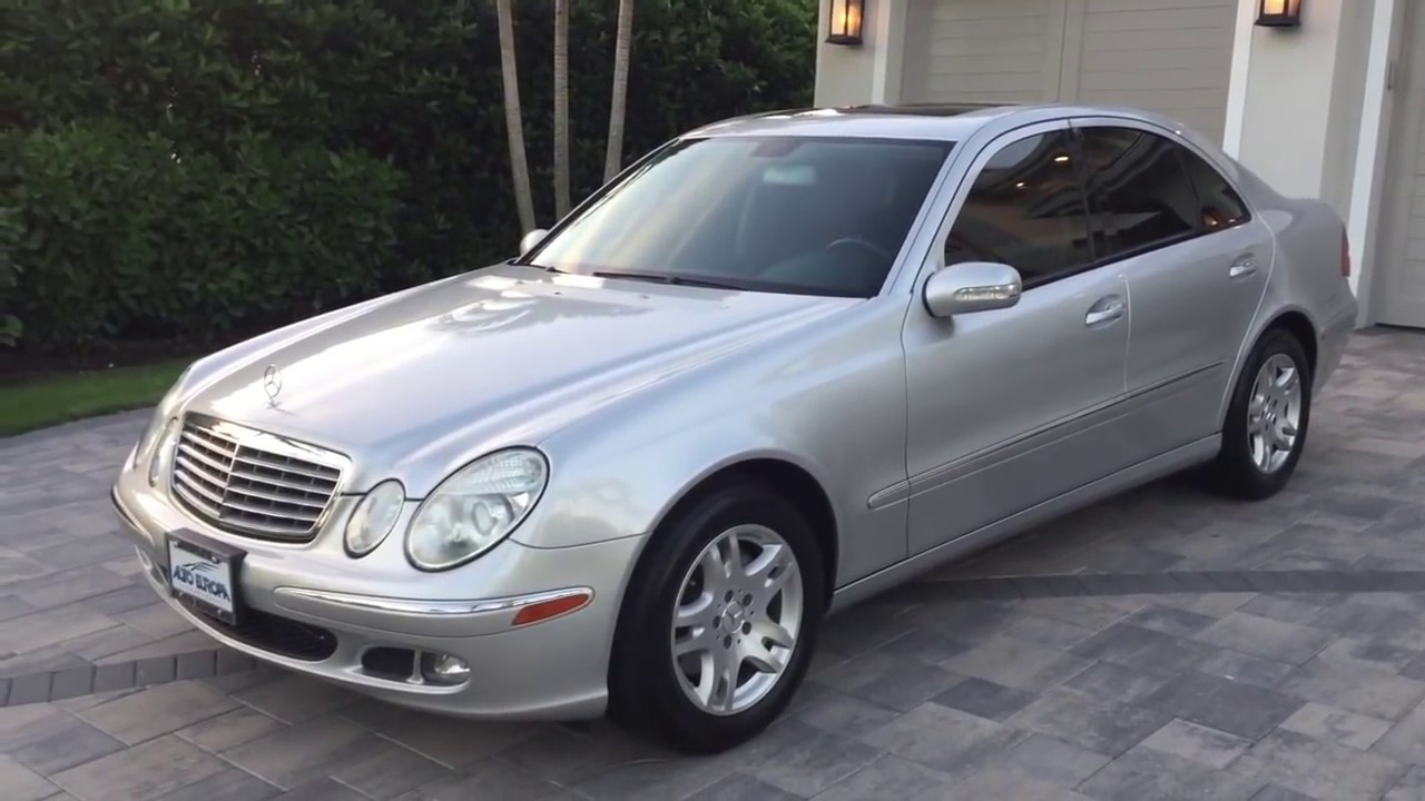 2006 Mercedes Benz E350 Sedan Review And Test Drive By Auto Europa Naples Youtube