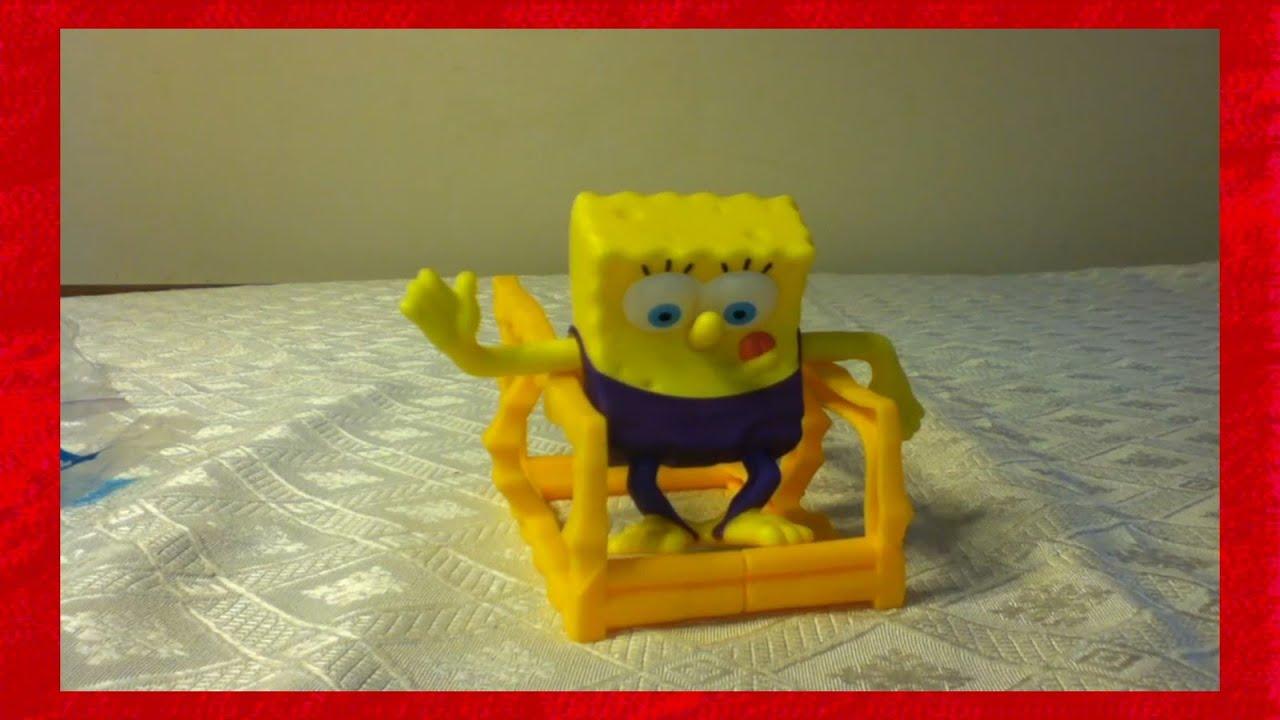 Mcdonalds Spongebob Gymnast Toy 11 Review Youtube