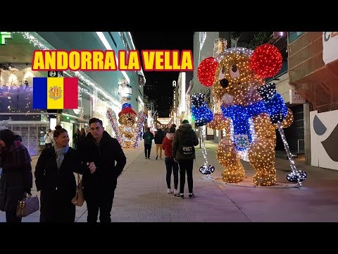 Andorra la Vella 🇦🇩 | Christmas Markets and Duty Free Shopping