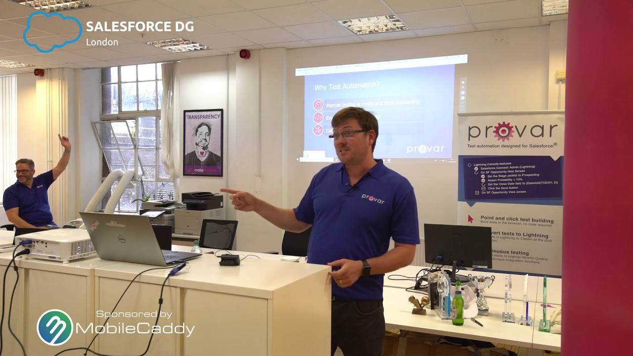 London Salesforce DUG, June 2018: Salesforce DX and Apex