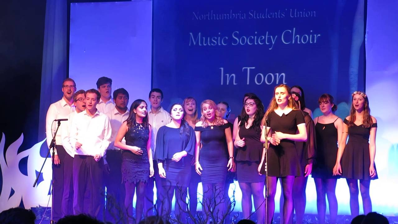 In Toon at the Annual Awards - Chandelier (Sia A cappella cover ...