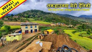Nepali Village Life   My Day in Beautiful Village Barekot Nepal   IamSuman