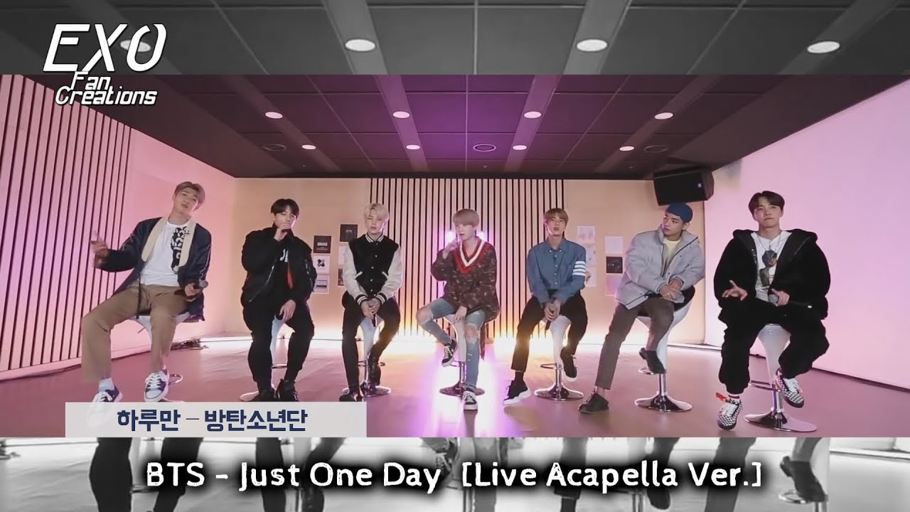 Download BTS - Just One Day (Live Acapella Ver.) [ARMYPEDIA]