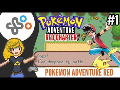POKEMON ADVENTURE: RED CHAPTER (Rom Hack) - PART #01 (Walkthrough & Gameplay)
