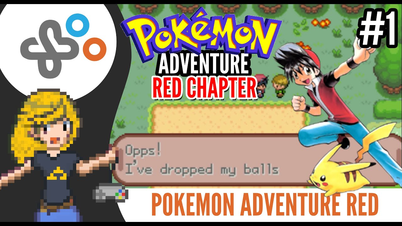 POKEMON ADVENTURE: RED CHAPTER Rom Hack  PART 01