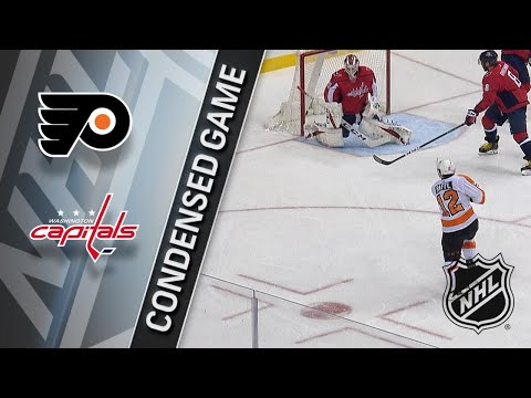 01/21/18 Condensed Game: Flyers @ Capitals