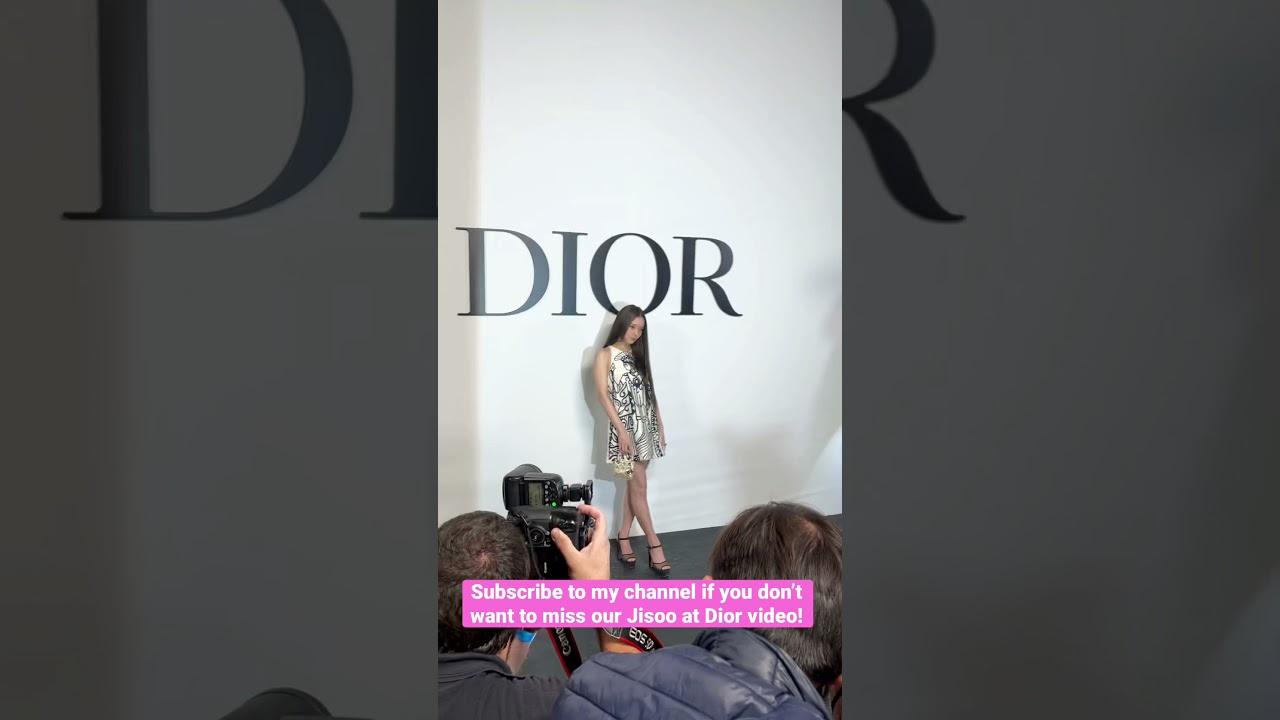 Jisoo at Dior! #jisoo