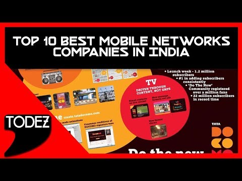 Top 10 Best Mobile Networks Companies In India