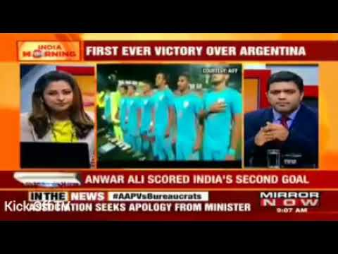 India U-20 vs Argentina U-20    2-1    Media reaction    Mirror Now