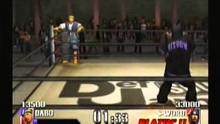 Fight between two japanese rapper from Nitro Microphone Underground...