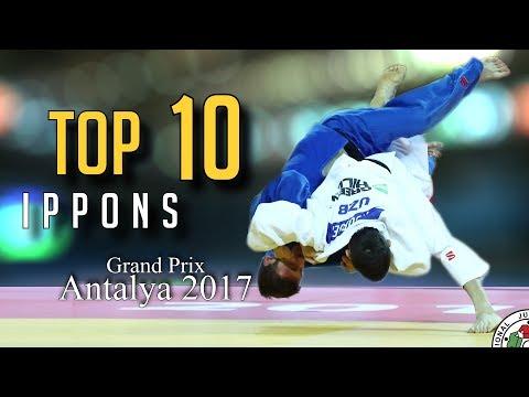 TOP 10 IPPONS | Grand Prix Antalya 2017| JudoHeroes