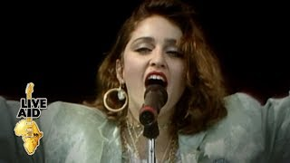 Madonna - Holiday (Live Aid 1985)