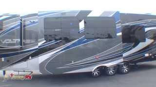 Stock #2490  2013 38-foot Voltage 5th Wheel Toy Hauler (michael Blakeley)