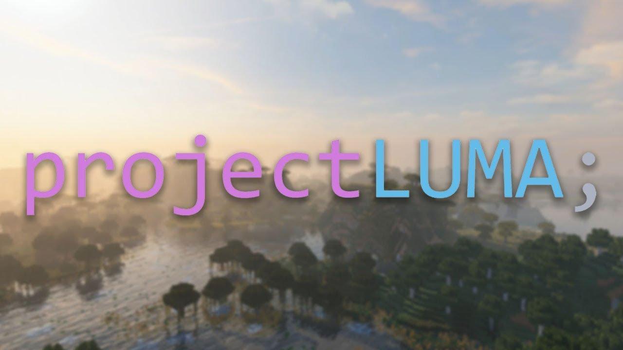 projectluma_projectLUMAteaser|MinecraftShaders-YouTube