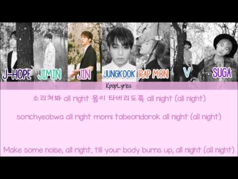 BTS - Sick (쩔어) [Eng/Rom/Han] Picture + Color Coded HD