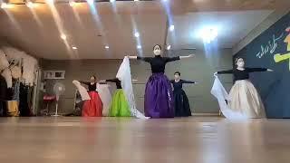 교방살풀이춤