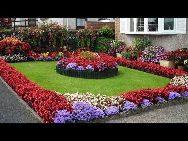 Beautiful Small Flower Garden Landscaping Ideas Youtube