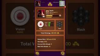 #4 6-0    Online Carrom board game pool