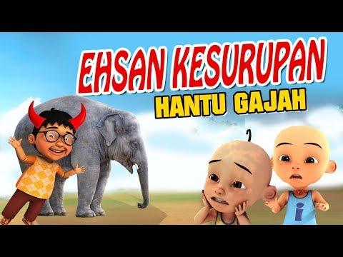 ehsan-kesurupan-hantu-gajah-,-upin-ipin-kaget-gta-lucu