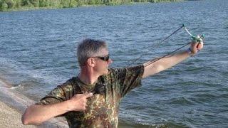 Как сделать рогатку, рогатка для рыбалки своими руками