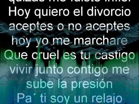 Hector Acosta (El Torito) - Me Voy (Lyrics)