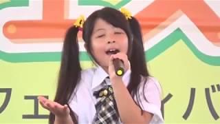 2018/7/27 野木町ひまわりフェスティバル りお&ななみ 歌謡ショー 1....