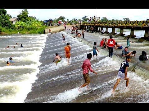 Tourism of Cambodia - Toul Sok San Dam at Koh Nhek District in Mondulkiri Province