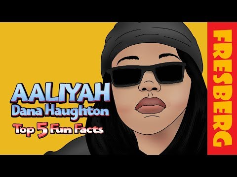Fun Music Facts for Kids: Top 5 things you might not know about Aaliyah (Cartoon)