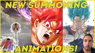 NEW DOKKAN BATTLE SUMMONING ANIMATIONS!!! Tons Of New Updates For 3.13.1 Dragon Ball Z Dokkan Battle
