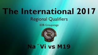 TI7 Qualifier - CIS - M19 vs Na'Vi