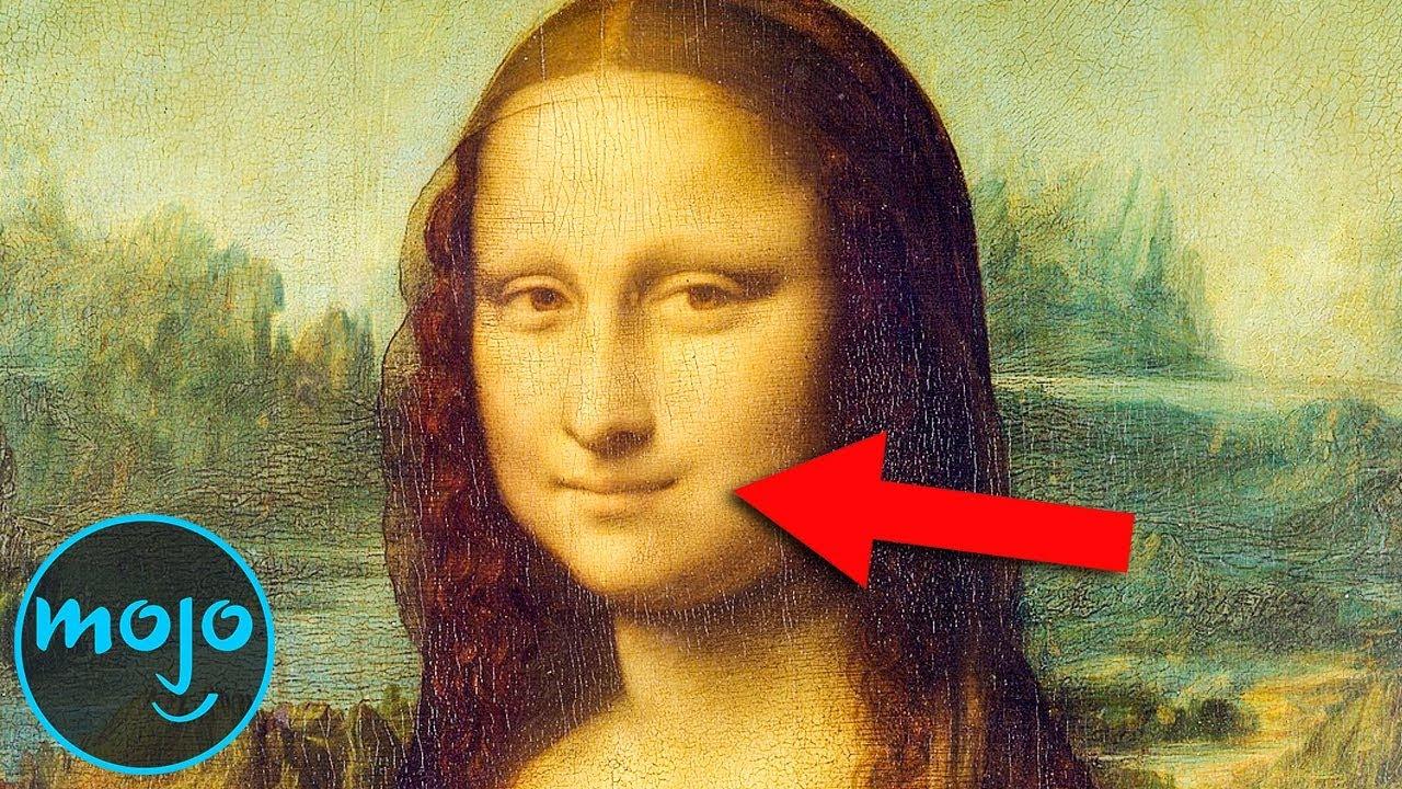 Top 10 Hidden Secrets In The Mona Lisa Youtube