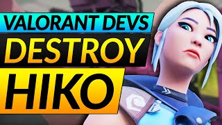 VALORANT DEVS DESTROY HÏKO - Why Cypher and Sage MUST be Nerfed - Valorant NEWS Guide