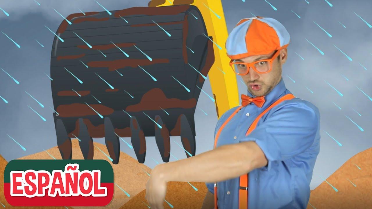 Blippi visita una obra de construcción | Compilación | Aprende con Blippi