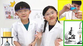 學習科學實驗!火山爆發& 彩虹摩天輪~ Learning Science Experiment!So Much Fun~