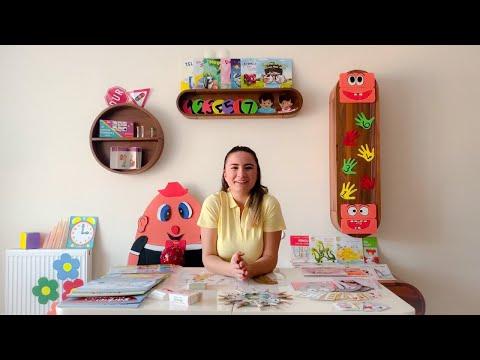 Merve'nin Dünyasına Hoşgeldiniz - Okul Öncesi Çocuklar İçin Eğitici Ve Öğretici Etkinlikler