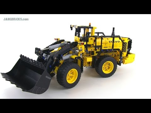 lego technic volvo l350f wheel loader 42030 review full rc control. Black Bedroom Furniture Sets. Home Design Ideas