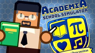 THEY ARE THE FUTURE BUT THEY NEED TO PEE - Academia School Simulator Gameplay #2