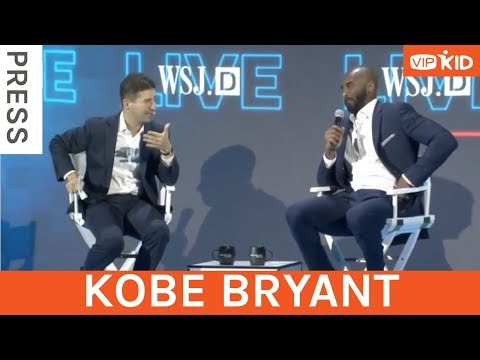 Kobe Bryant talks about VIPKID and CEO Cindy Mi on WSJDLive