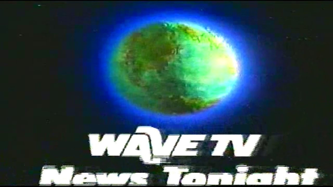 "WAVE 3 ""NBC Affiliate"" News Tonight Intro (1985) 