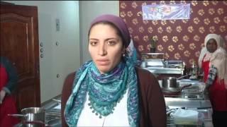 شركة مصرية تعطي دورات في الطبخ للاجئات