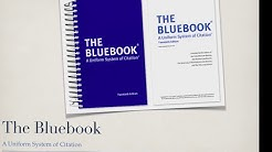 Introduction to Citation and Bluebook