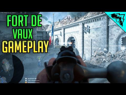 Fort de Vaux Gameplay - Lebel Model 1886 Infantry Iron Sight Multiplayer LIVE