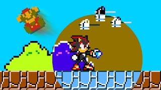 Shadow the Hedgehog in Super Mario Bros.
