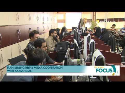 Iran strengthens media cooperation with Kazakhstan