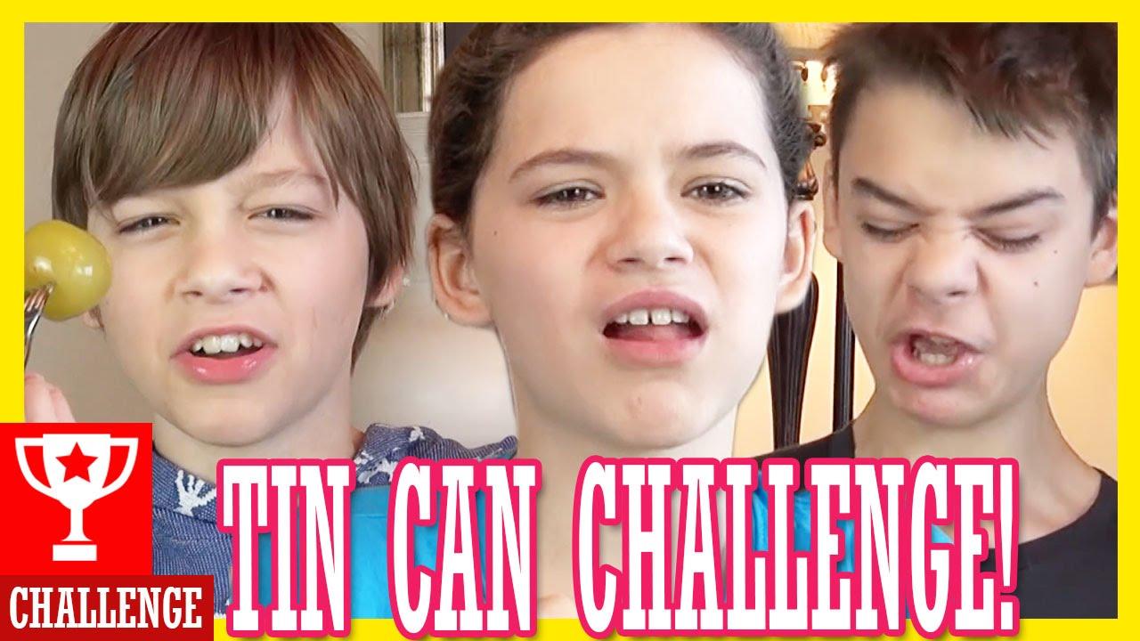 THE TIN CAN CHALLENGE! | KITTIESMAMA - clipzui.com