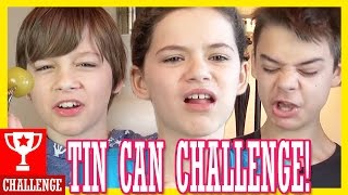 THE TIN CAN CHALLENGE!  |  KITTIESMAMA
