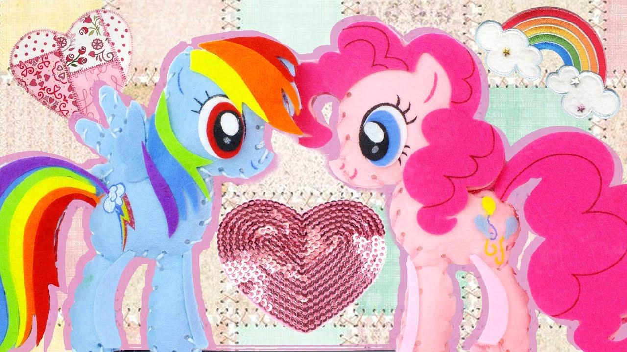 diy ponies my little pony sew your own ponies set mlp. Black Bedroom Furniture Sets. Home Design Ideas